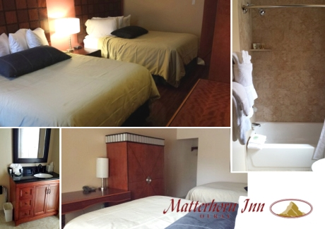 Matterhorn Inn Double Queen Sized Room